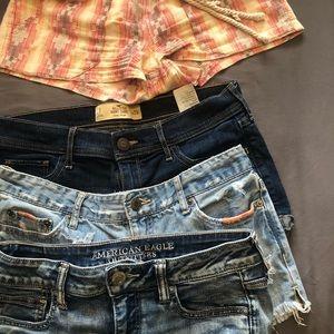 Shorts- 4 pair